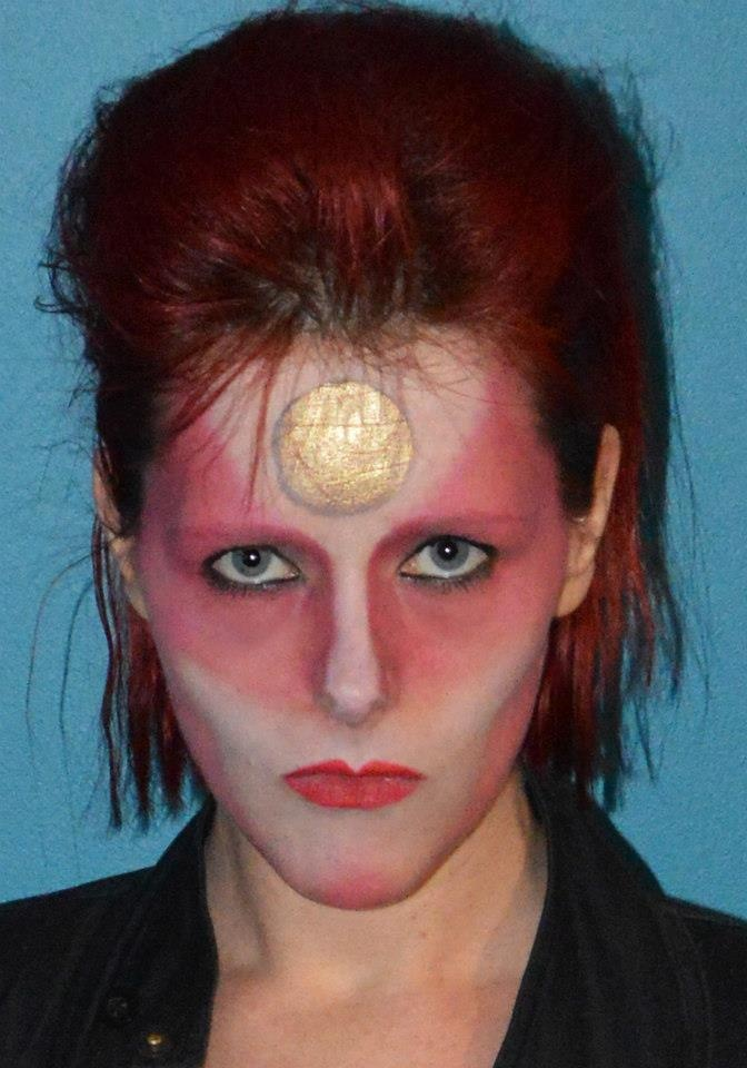 David Bowie make-up | Special effects make up | Pinterest