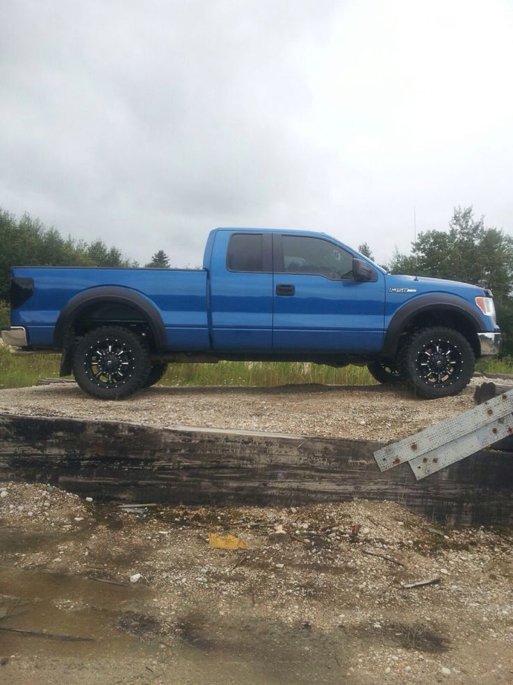 Ford F150 Homies Truck Fuel Rims Mbrp Exhaust 33inch