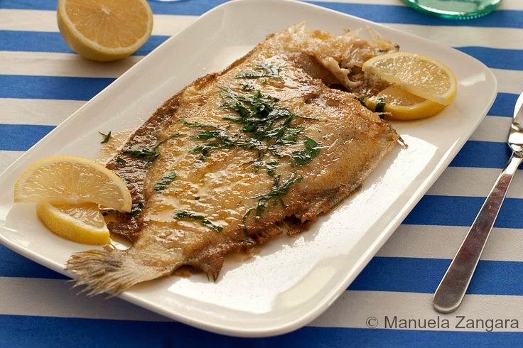 Sole A La Meuniere Recipe — Dishmaps