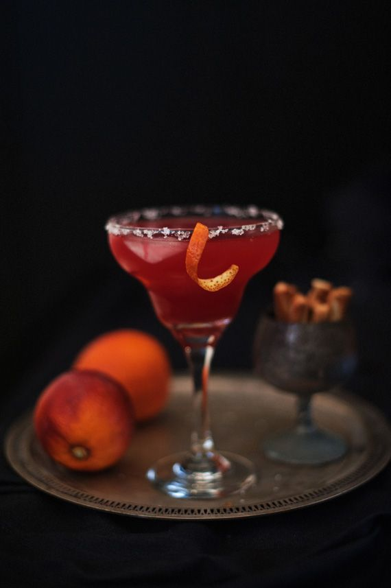 Noble Blood Orange Juice Margarita- it's citrus season!