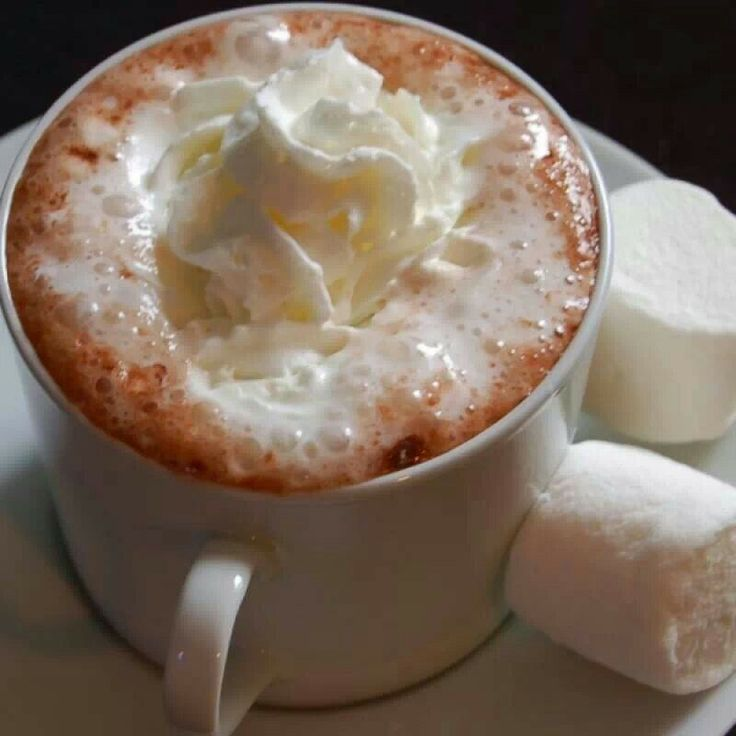 Perfect hot chocolate | Looks good enough to eat | Pinterest