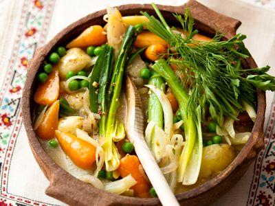 Spring Vegetable Stew #healthy | Yum! | Pinterest