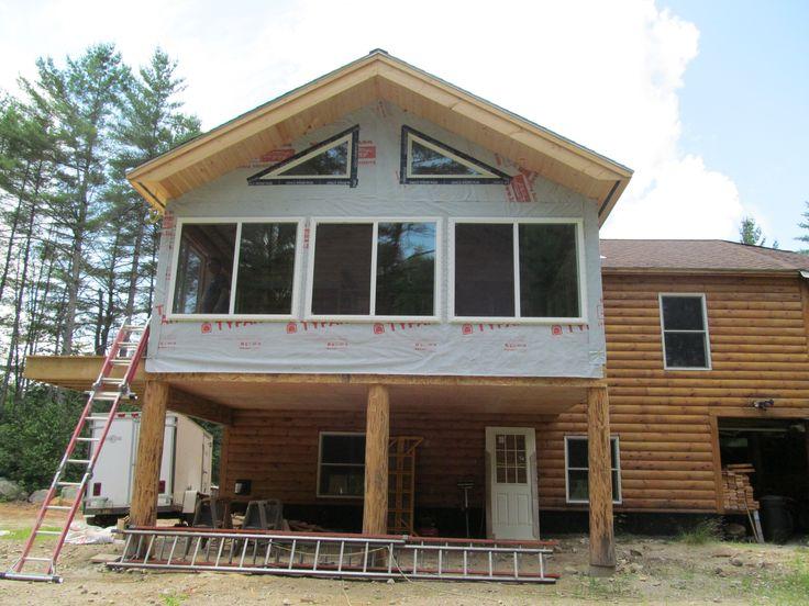 Four season porch deck pinterest for Four season porch plans