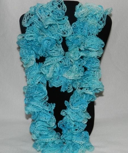 Handmade Red Heart Boutique Sashay Mini Crochet Scarf in ...