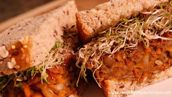 Lentil Burger Recipe | Healthy Vegan Recipes | Healthy Vegan Recipes ...