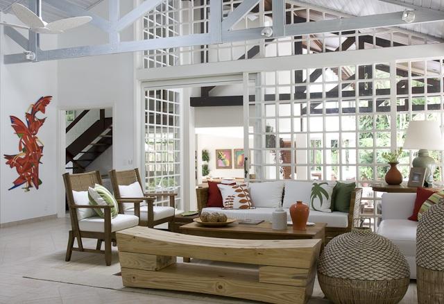 Decoração de Interiores em Casa Iporanga  Decoradora Marilia Veiga