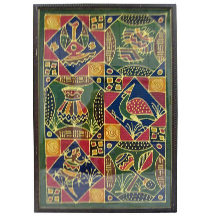 Vintage African Batik SATURDAY SALE
