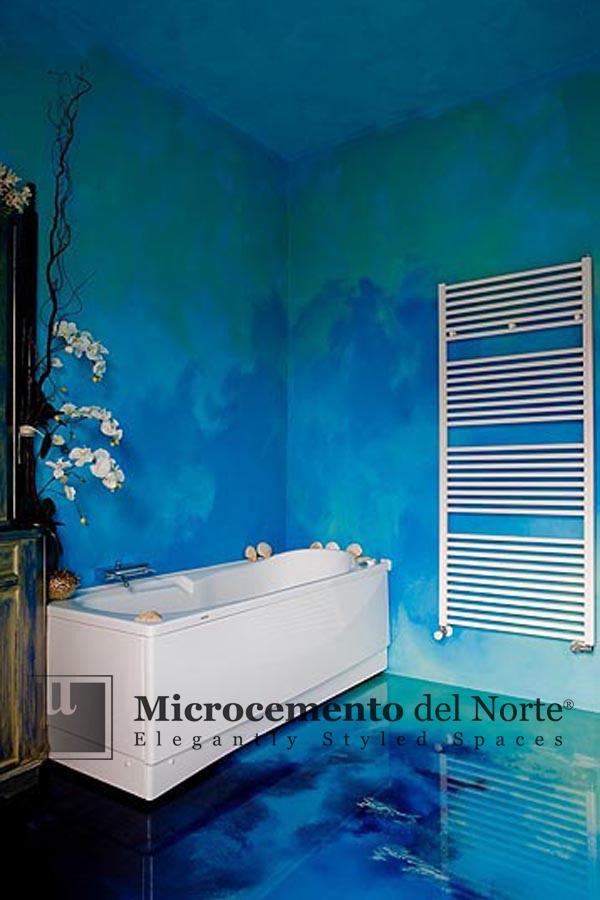 Baños De Microcemento:Found on microcementodelnortecom
