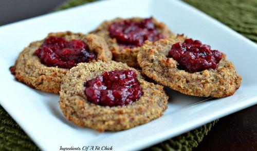 Raspberry Almond Cookies   Baking GF   Pinterest