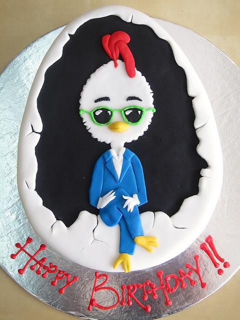 Chicken Little Cake (Chicken Little 11/04/2005)