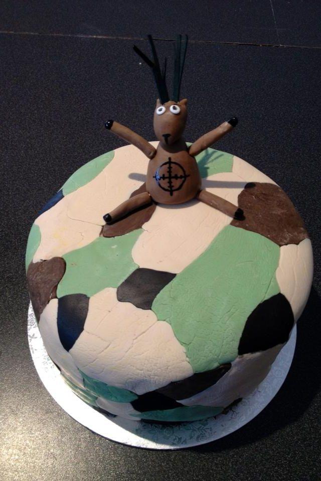 Hunting themed birthday cake. Birthday ideas Pinterest