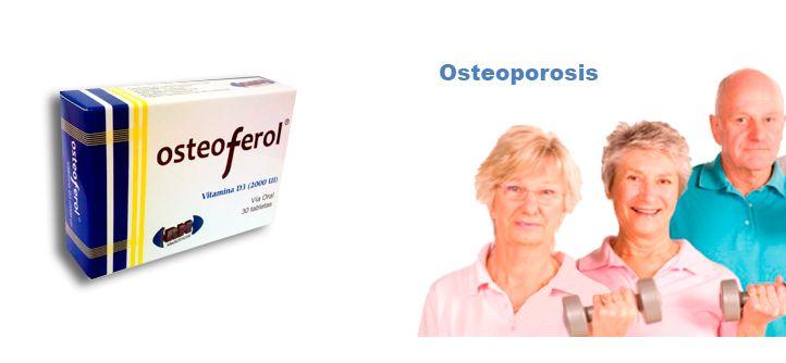 Osteoferol - Ideal en el tratamiento y prevención de la osteoporosis.