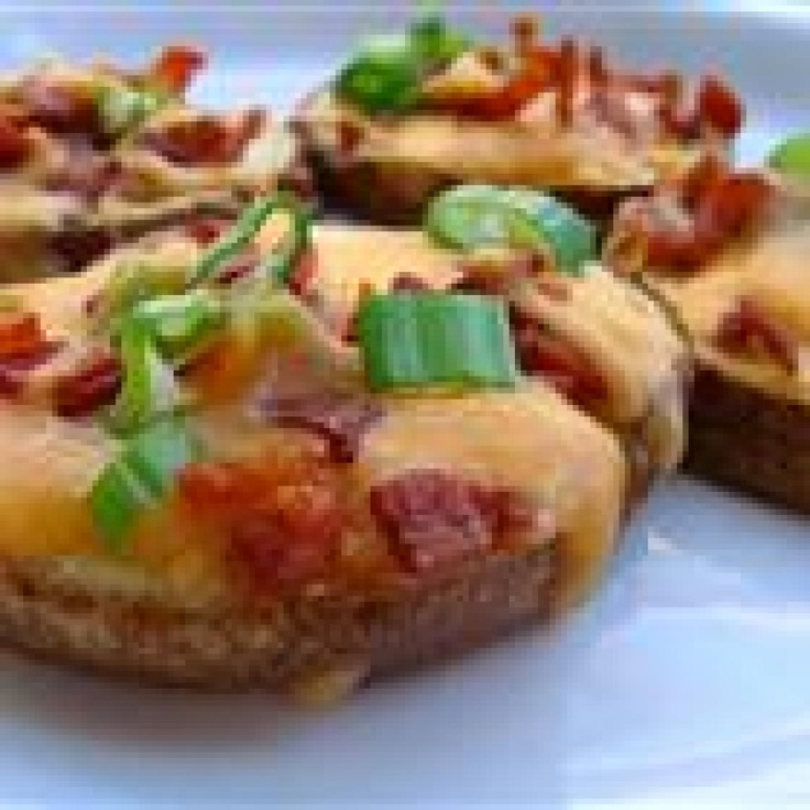 Yum... I'd Pinch That! | Cheese and Bacon Potato Rounds