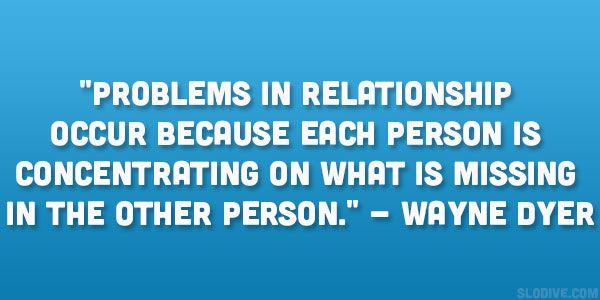 relation problems