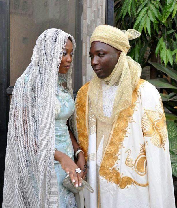 Black muslim wedding