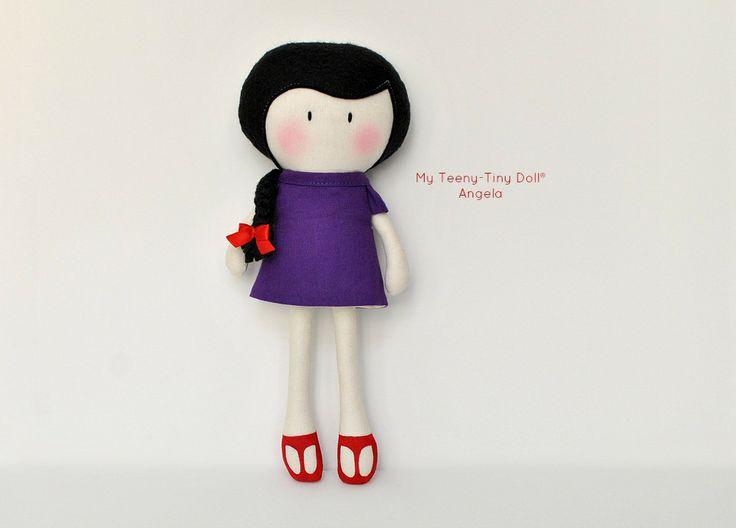 """Мой Тини-Крошечный Кукла ® Ангела / 11 """"кукла ручной работы Кука вас Некоторые Лапша ®"""