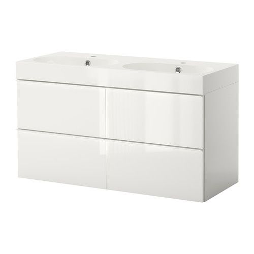 Luxe Badkamer Accessoires ~ GODMORGON BR?VIKEN Sink cabinet with 4 drawers IKEA 10 year Limited