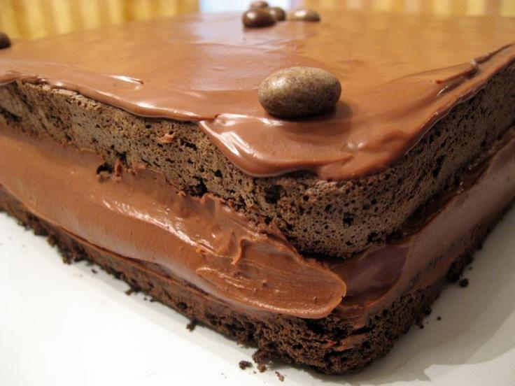 Cool Chocolate Recipes: Rum Mocha Chocolate Cake
