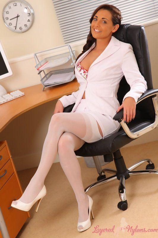 Сексуальные секретарши с босом