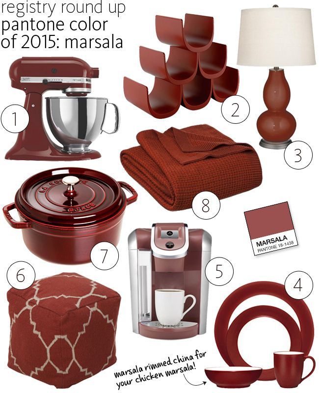 Pantone 2015 Marsala | blog.TheKnot.com