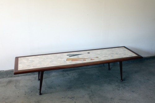 Marble And Terrazzo Atomic Coffee Table Mid Century Coffee Tables