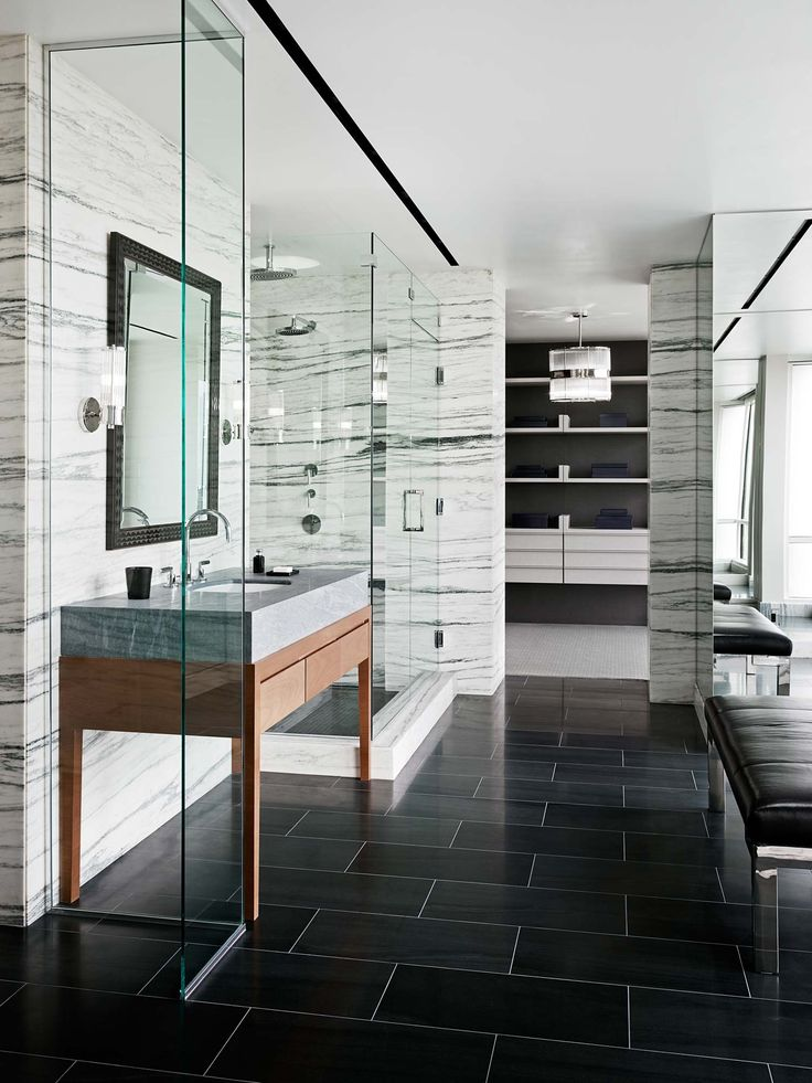 Modern Marble Bathroom Dream Homes Elegant Design And
