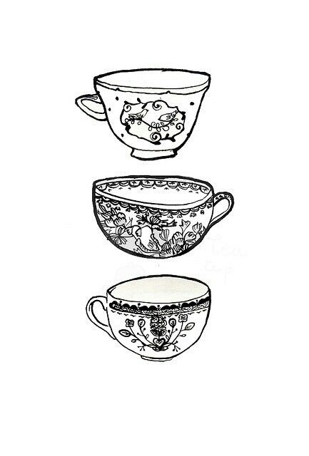 Pinned by Cally RobertsTeapot Drawing Tumblr