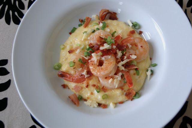shrimp amp grits shrimp cheese bacon and grits what s not to love