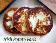 Irish Potato Farls Recipe   Easy Recipes   Pinterest