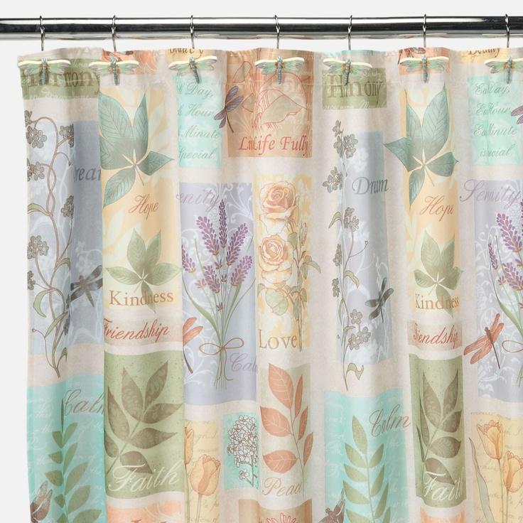 Saturday Knight Harmony Fabric Shower Curtain | Shopko.com