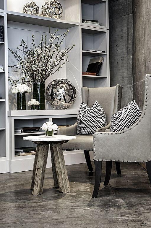 uniqueshomedesign:  Concrete, Contempora charisma design