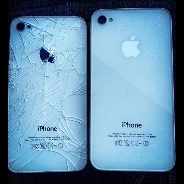 Repair glass iphone 3gs neuf