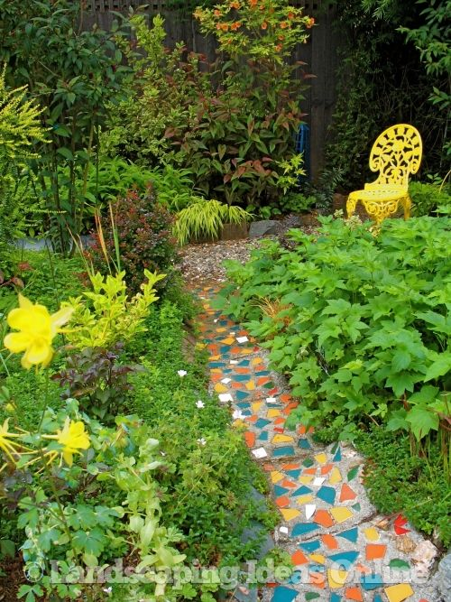 Garden path ideas home decor pinterest - Picturesque front garden pathway ideas ...