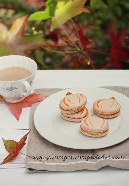 Pumpkin Macarons | Cakes & Desserts | Pinterest