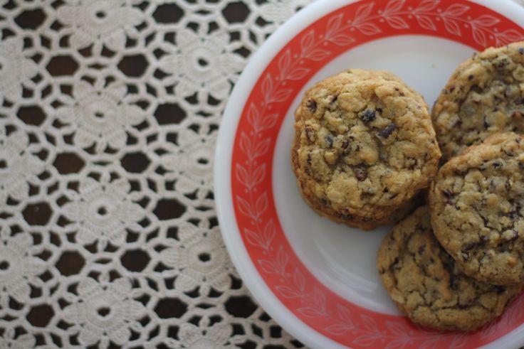 oatmeal cocoa nib cookies | Cookies | Pinterest