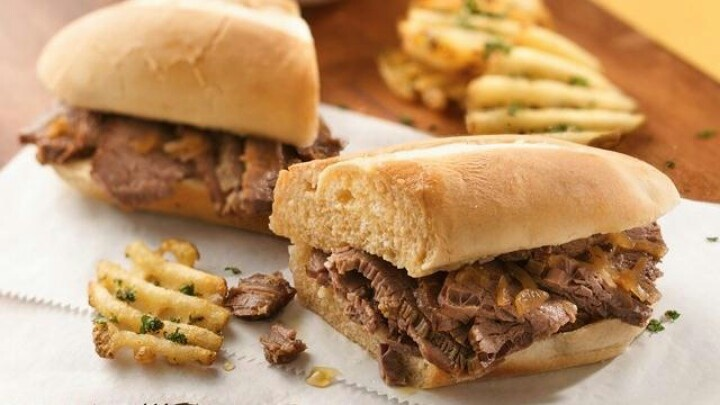 Slow cooker easy french dip sandwiches | Future Family | Pinterest