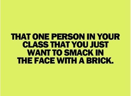 I could actually think of a few...