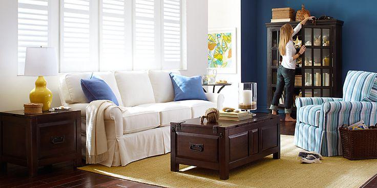 Nautical themed living room nautical dreams livingroom - Nautical themed living rooms ...