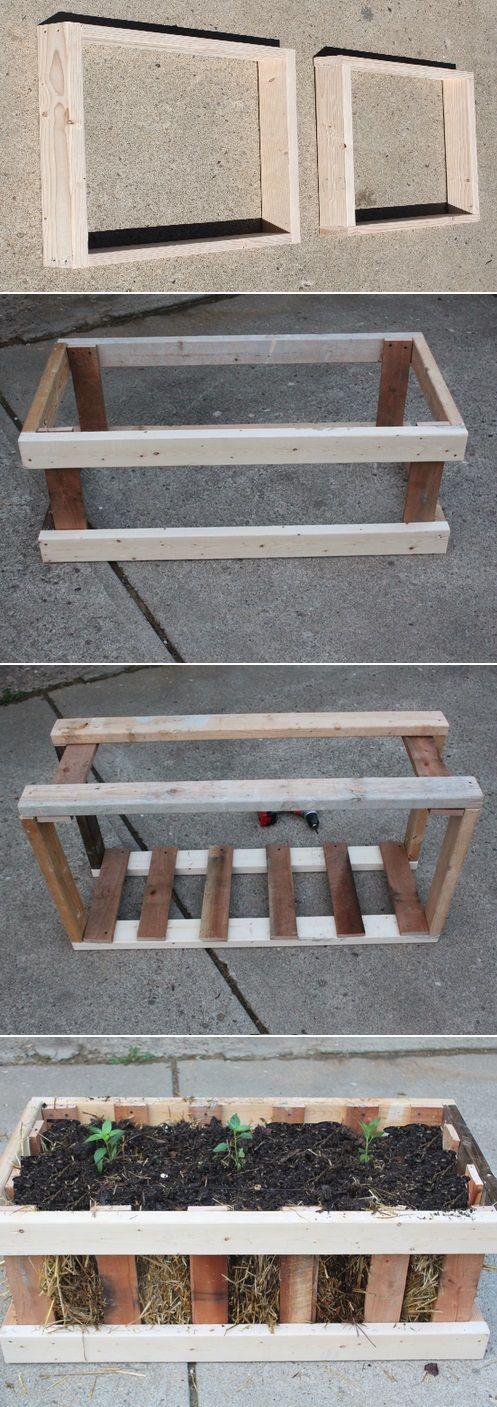 Cheap raised garden beds garden pinterest - Build raised garden bed cheap ...