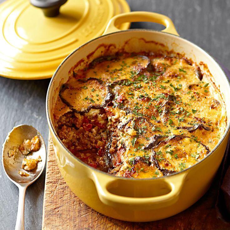 Moussaka aka eggplant lasagna | Recipes I want to make | Pinterest