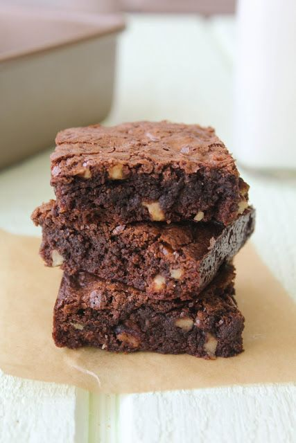 Spoonful of Flour: Katharine Hepburn Brownies can sub 1/2 cup cocoa ...