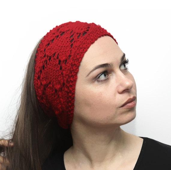 Red Heart Free Pattern Lw2254 Crochet Flower Headband : Free Crochet Knitted Headband Pattern Apps Directories