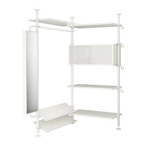IKEA closet organizer  Cozy Little Home  Pinterest