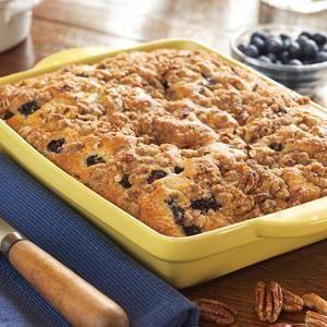 Blueberry Maple Coffee Cake | Desserts | Pinterest