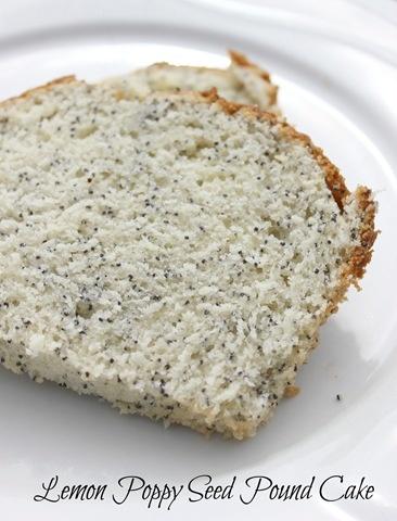 Lemon Poppy Seed Pound Cake | Recipes | Pinterest