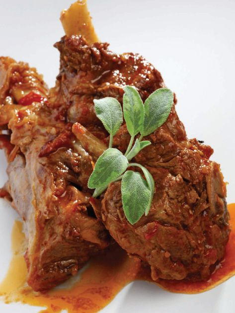Greek Lamb Braised With Tomatoes (Kokkinisto) Recipe — Dishmaps