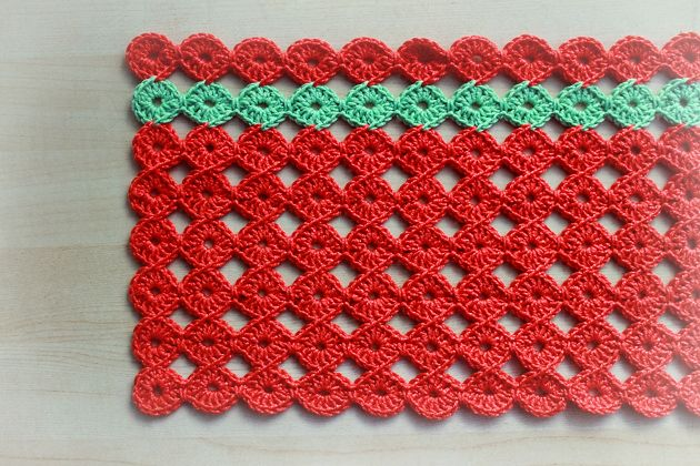 Crochet Placemats : crochet placemat Borrowed Creativity.... Pinterest