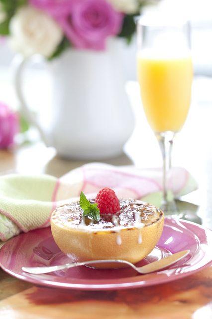 Grapefruit Brulee | My cookbook/food blogging | Pinterest