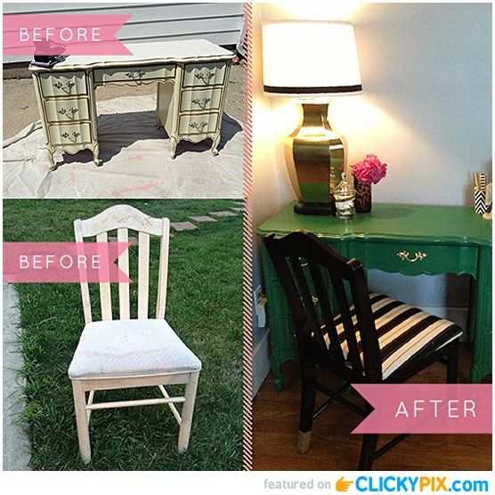 20 Before And After Furniture Makeovers Old Furniture