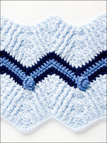 Crochet Stitches Ripple Pattern : 50 Ripple Stitches - Crochet Pattern afghans Pinterest